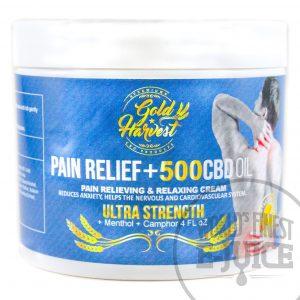 Gold Harvest - Ultra Strength CBD Pain Relief Cream