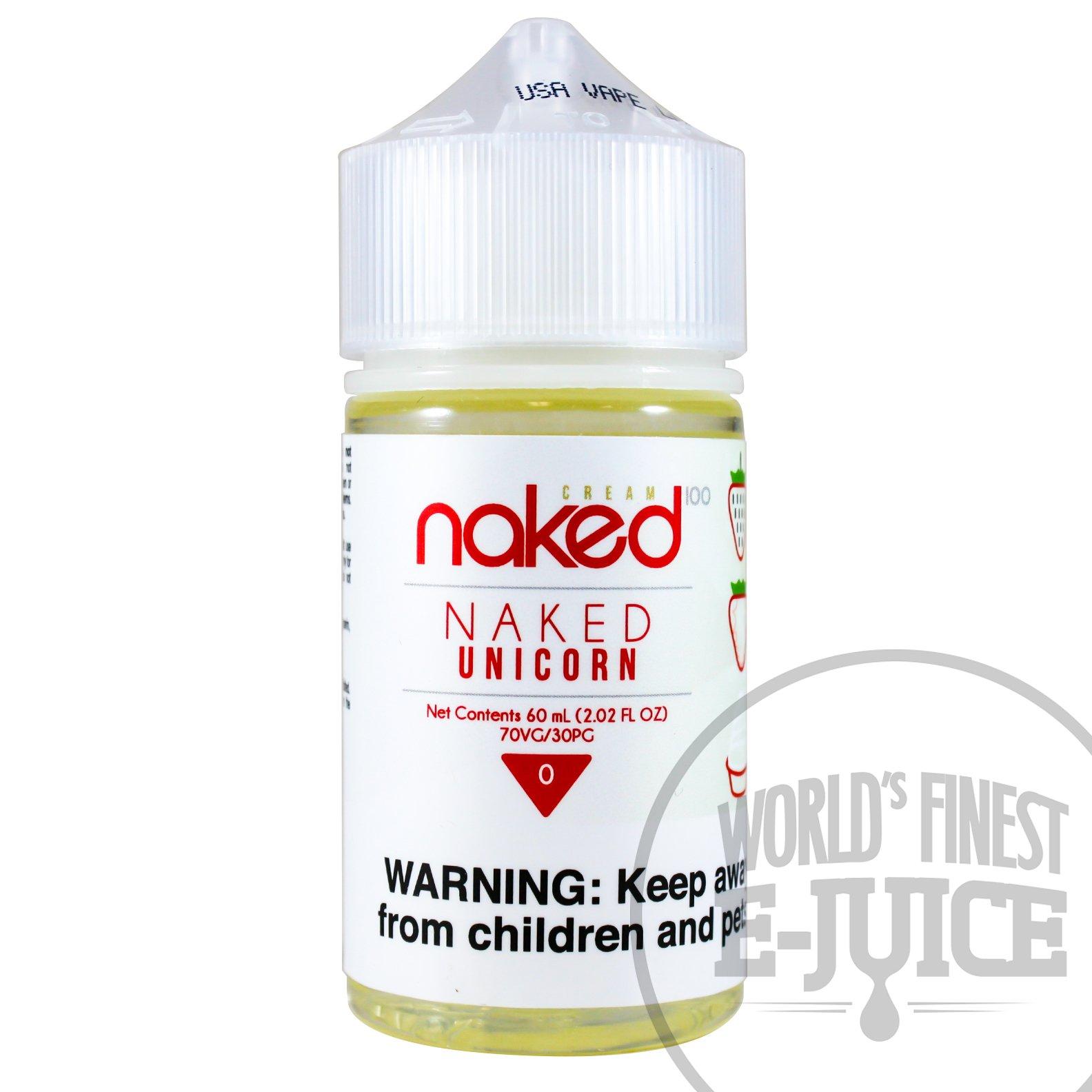 Naked 100 Cream Naked Unicorn Eliquid 50ml £9.99 vaping