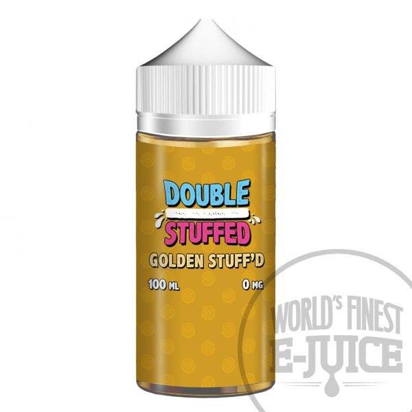 Double Stuffed Salt E-Juice - Golden Stuff'd