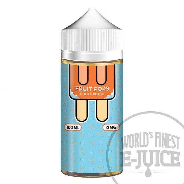 Fruit Pops E-Juice - Polar Peach