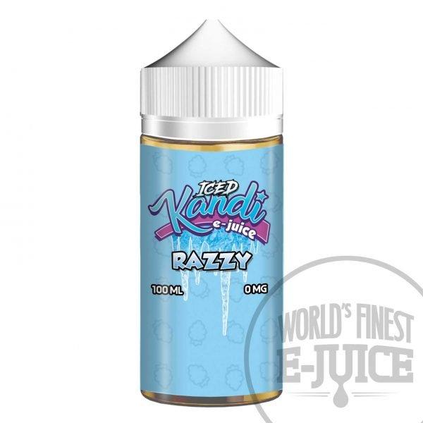 Kandi Salt E-Juice - Iced Razzy
