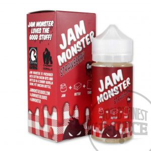 Jam Monster E-Juice - Strawberry Jam