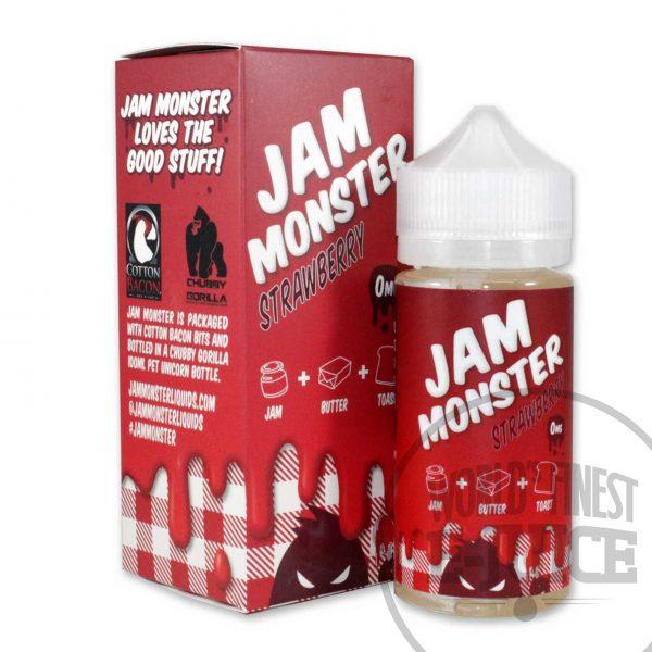 Jam Monster E-Juice - Strawberry Jam