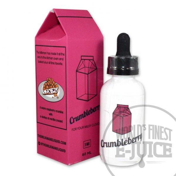 The Milkman E-Juice - Crumbleberry
