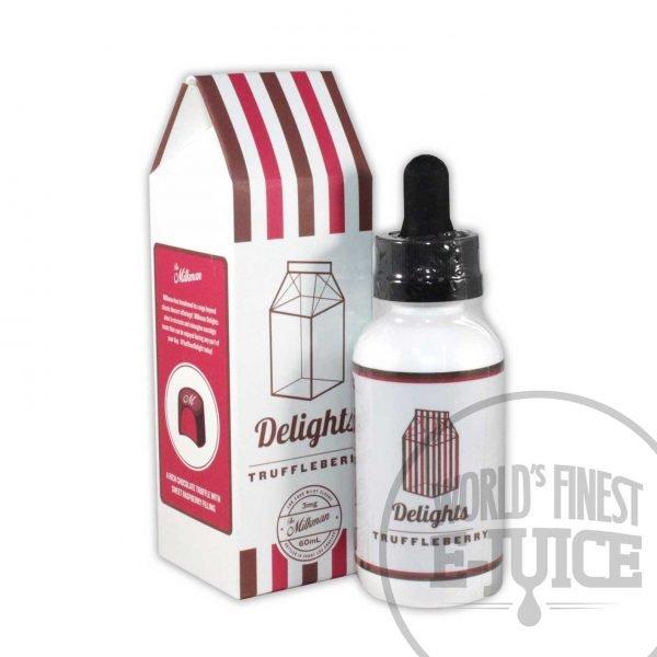 The Milkman Delights E-Juice - Truffleberry