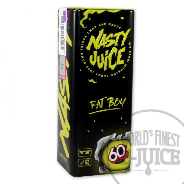 Nasty E-Juice - Fat Boy