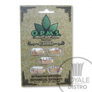 OPMS Kratom Gold Capsules
