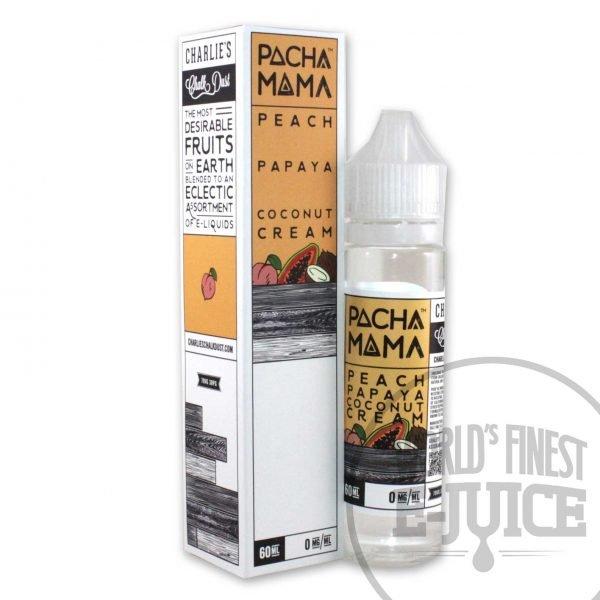 Pacha Mama E-Juice - Peach Papaya Coconut, Flavor_Fruit