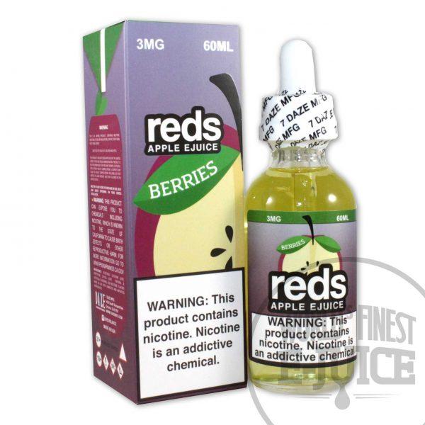 red's Apple E-Juice - Berries