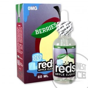 Iced red's Apple E-Juice - Berries