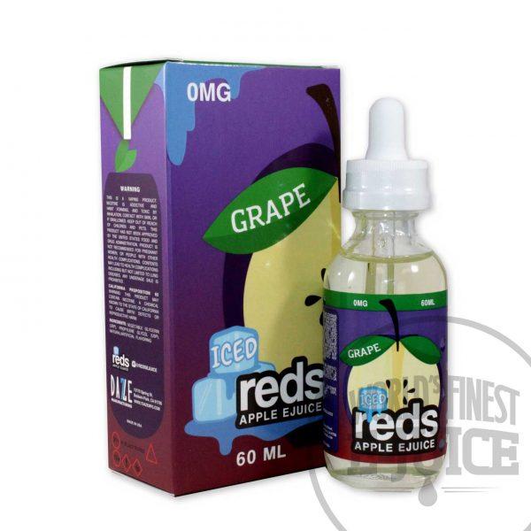 Iced red's Apple E-juice - Grape