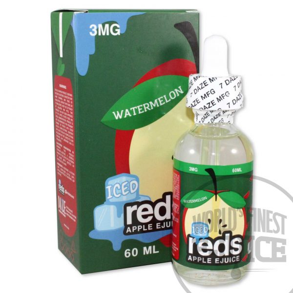 Iced red's Apple E-Juice - Watermelon