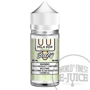 Milk Pop Salt E-Juice - Dew Pop
