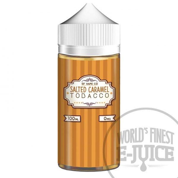 Salted Caramel Tobacco Salt Nicotine E-Juice - Salted Caramel Tobacco