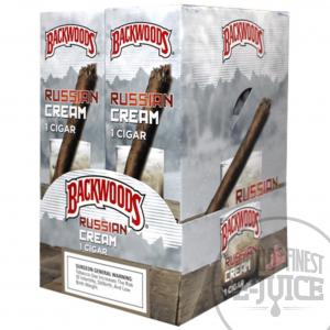Backwood - 24 Cigars_Russian Cream