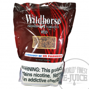 Wildhorse Pipe Tobacco 16 Oz_Red